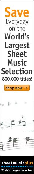 Sheet Music Plus Homepage