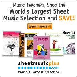Sheet Music Plus Teacher
