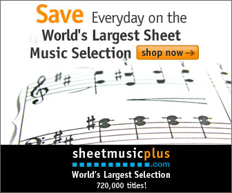 Sheet Music Plus Homepage