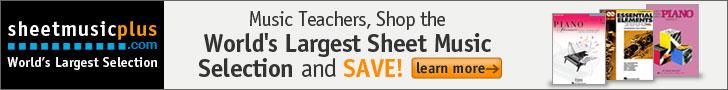 Sheet Music Plus Teacher
