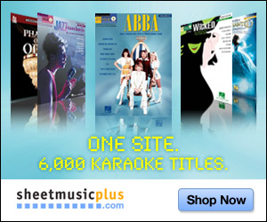 Sheet Music Plus Karaoke