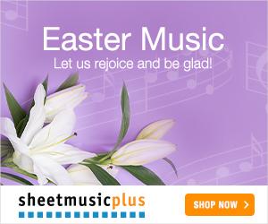 Sheet Music Plus 300 x 250 Dynamic Banner