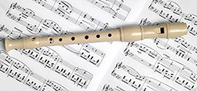 Find recorder sheet music