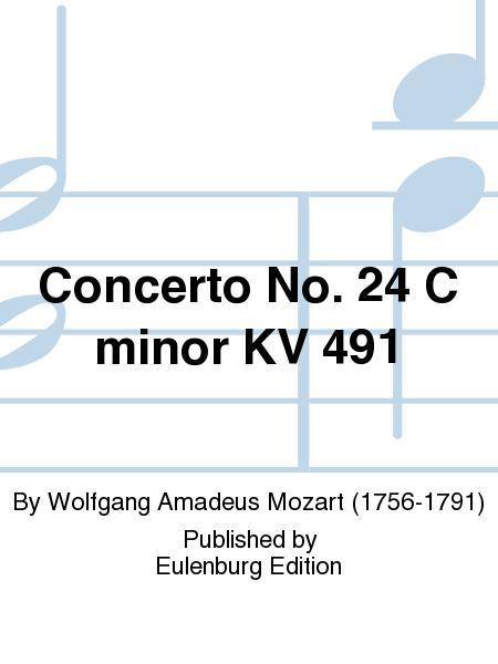 Piano Concerto No 24 in C Minor K 491 Kalmus Edition