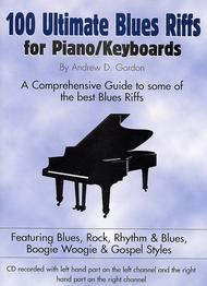 Image of 100 Ultimate Blues Riffs For Piano/Keyboards: Piano Method