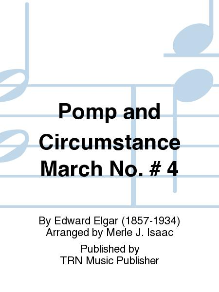 Sheet music pomp and circumstance concert band for Pomp and circumstance