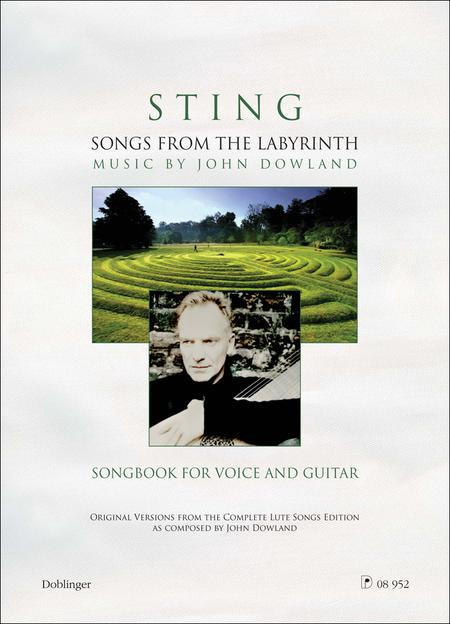 Partitions : Sting: Songs From The Labyrinth (Guitare