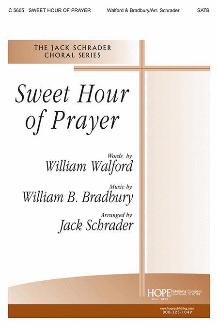 sweet hour of prayer sheet music pdf