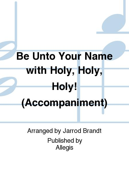 be unto your name sheet music free pdf