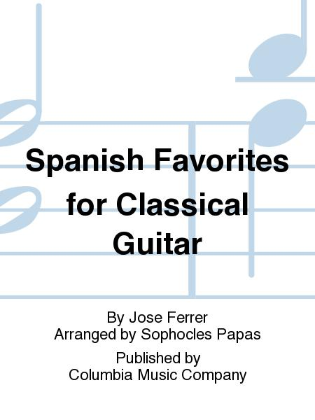 Jose Ferrer 11 Easy Spanish Guitar Solos In Standard