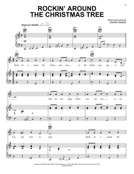 Guitar u00bb Guitar Chords Rockin Around The Christmas Tree - Music Sheets, Tablature, Chords and Lyrics