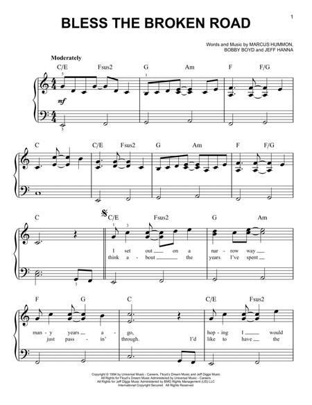 Amazing Broken Road Piano Chords Inspiration - Beginner Guitar Piano ...