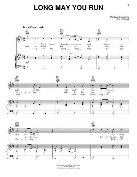 neil young piano sheet music pdf