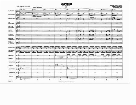 holst the planets jupiter score pdf