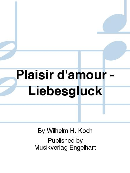 plaisir d amour piano sheet music pdf