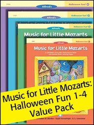 Music for Little Mozarts Halloween Fun Value Pack