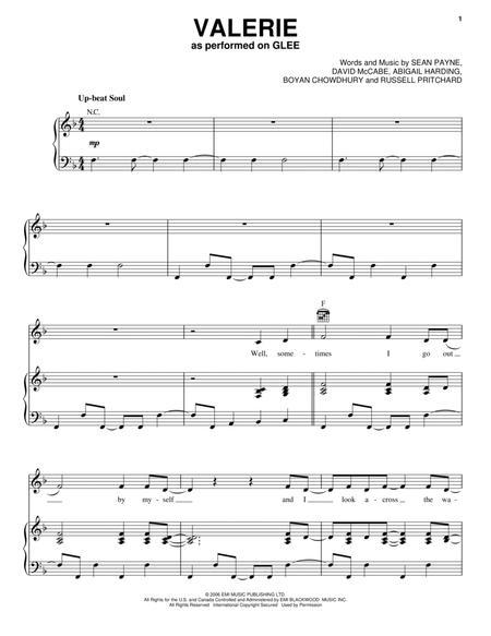 VALERIE CHORDS ver 8 by Amy Winehouse  UltimateGuitarCom