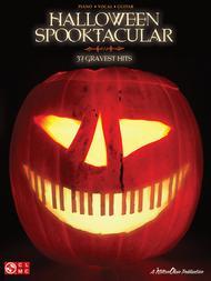 Halloween Spooktacular: Piano, Vocal, Guitar Sheet Music / Songbook