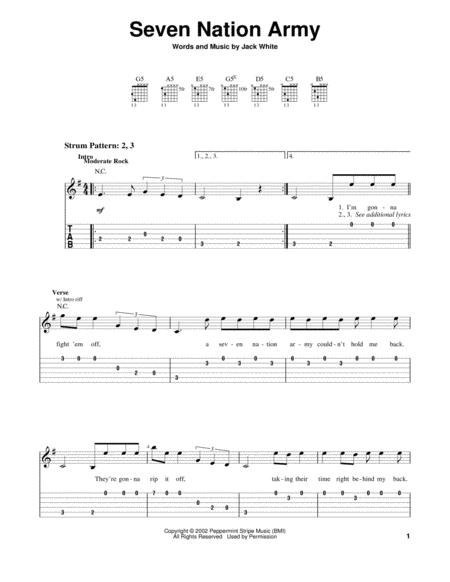 Drum u00bb Drum Tabs White Stripes - Music Sheets, Tablature, Chords and Lyrics