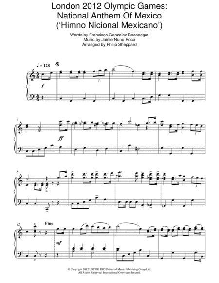 Mexico National Anthem Lyrics