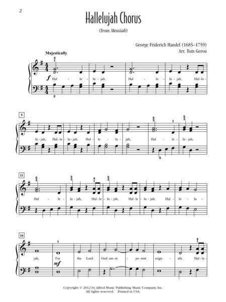 hallelujah sheet music free pdf