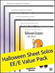 Halloween Sheet Solos EE/E Value Pack
