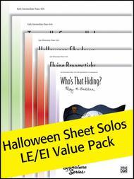 Halloween Sheet Solos LE/EI Value Pack