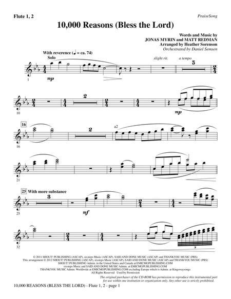 10000 reasons chords key of c pdf