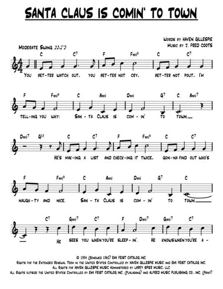 John Frederick Coots sheet music to download and print - World ...