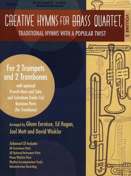 Sheet music: Creative Hymns for Brass Quartet, Vol. 2 ... - photo#25