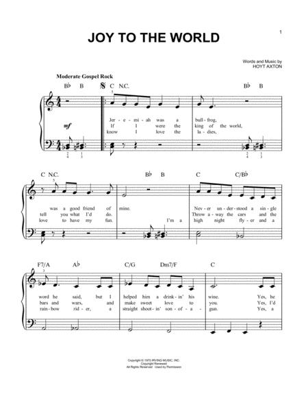 Three Dog Night sheet music to download and print - World center of ...