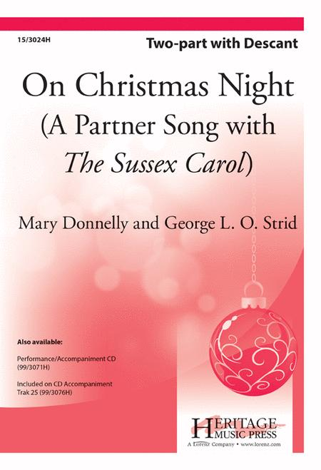 On Christmas Night Sussex Carol