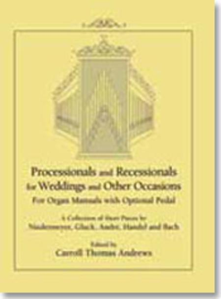 Sheet Music Processional And Recessional Organ