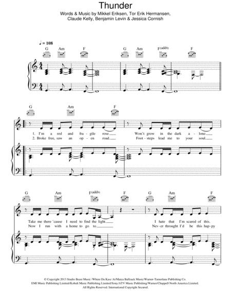 Xylophone xylophone chords of flashlight : Jessie J sheet music to download and print - World center of ...
