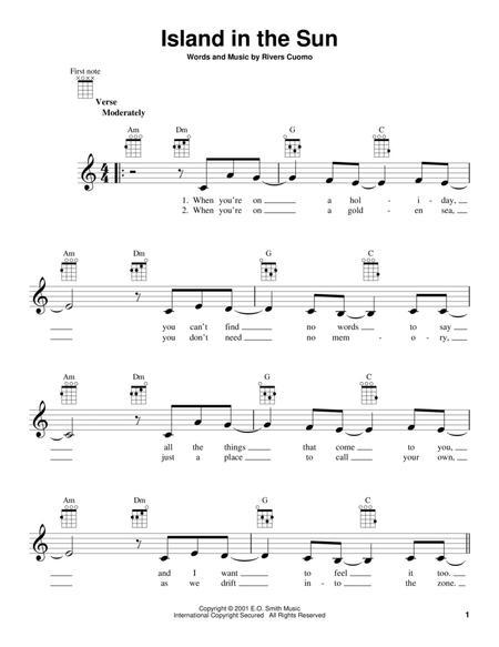 Weezer Island In The Sun Chords - Perfect (Ed Sheeran) Guitar Chord ...