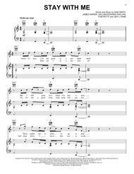 sam smith piano sheet music pdf