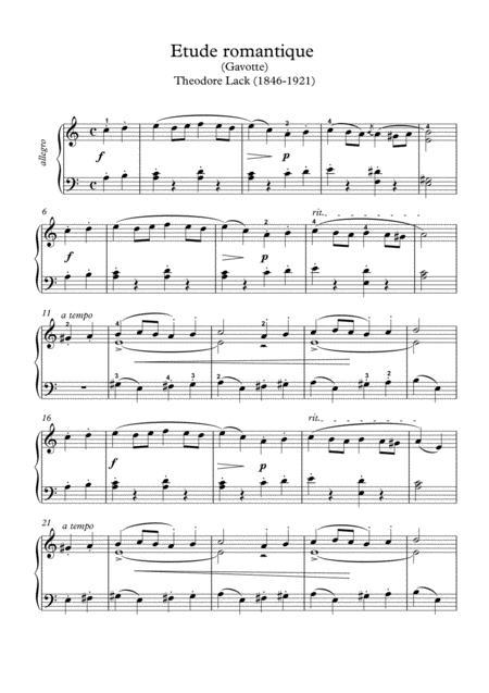 Buy Sheet Music Theodore-Lack Theodore Lack