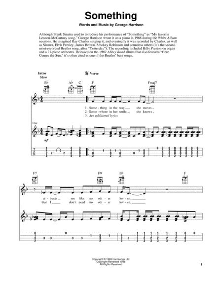 Beautiful Something Beatles Chords Piano Adornment - Beginner Guitar ...