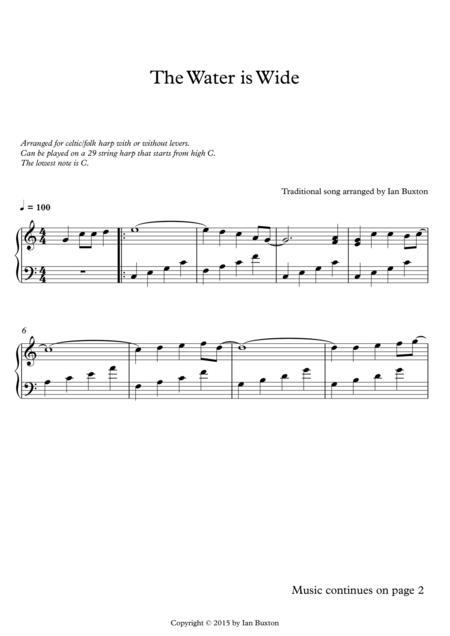 lap harp sheet music pdf