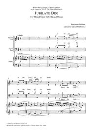 Benjamin Britten - A New Year Carol Sheet Music ...