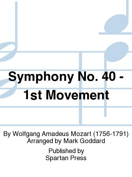 symphony no 40 1st movement wolfgang amadeus The bbc artist page for wolfgang amadeus mozart  symphony no 40 in g minor, k550  quintet for piano and winds in e flat major, k452, 1st movement.