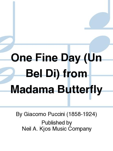 madame butterfly one fine day piano score pdf