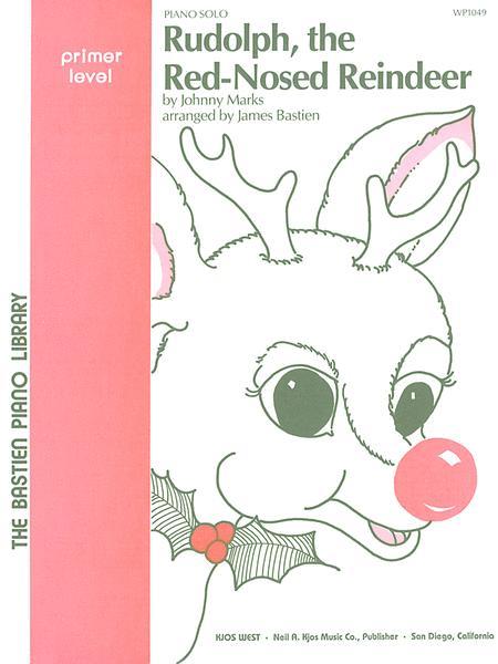 Free Christmas Piano Sheet Music Rudolph The Red Nosed Reindeer - rudolph the red nosed reindeer ...