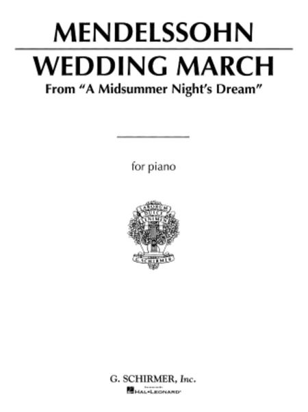 Sheet Music Wedding March Mendelssohn