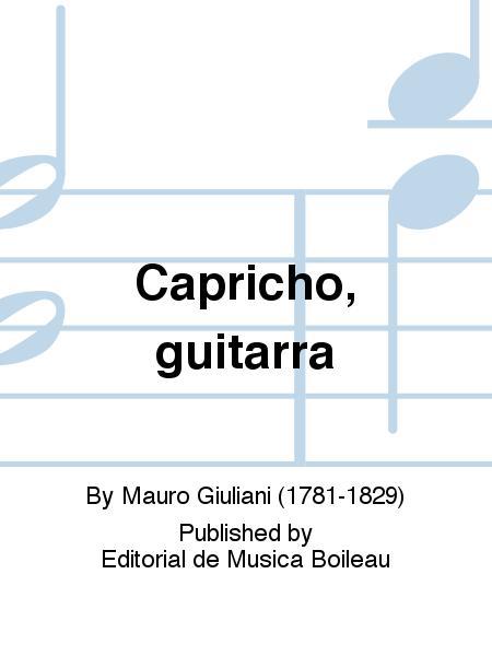 capricho arabe guitar tab pdf