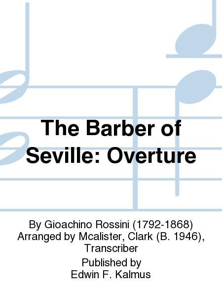 Sheet music: Barber Of Seville Overture String Insert