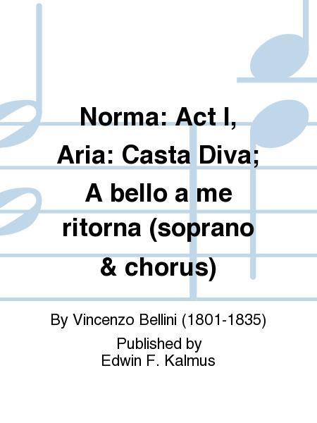 Partitions vincenzo bellini casta diva voix soprano - Vincenzo bellini casta diva ...