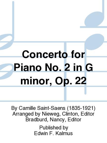 Piano Concerto No 2 in G Minor Op 22 Piano Duo 2 Pianos 4 Hands Kalmus Edition