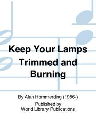 Sheet Music Keep Your Lamps Trimmed And Burning