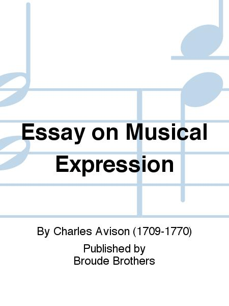 Essay on musical expression